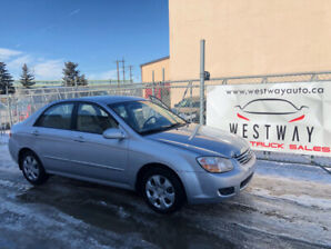 2007 KIA SPECTRA EX JUST HAS 135258 KMS 2 SETS OF TIRES !