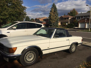 CLASSIC MERCEDES 380 SL CONVERTIBLE Well Maintained MUST SEE