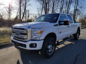 2014 Ford F-350 Platinum Edition