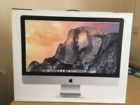 """Apple iMac 27"""" with Retina 5K Display - 3.3GHz Core i5 8GB RAM 1TB Hard Drive OFFERS ACCEPTED!!"""