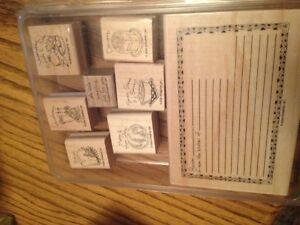 Stampin up what's for dinne