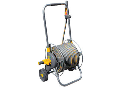 Hozelock 2436 60m Metal Pro Hose Cart & 30m of 12.5mm Hose HOZ2436