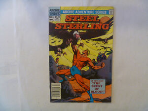 Archie ADVENTURE Series Comics - Steel Sterling, The Fly etc.
