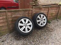 Audi A4 avant wheels