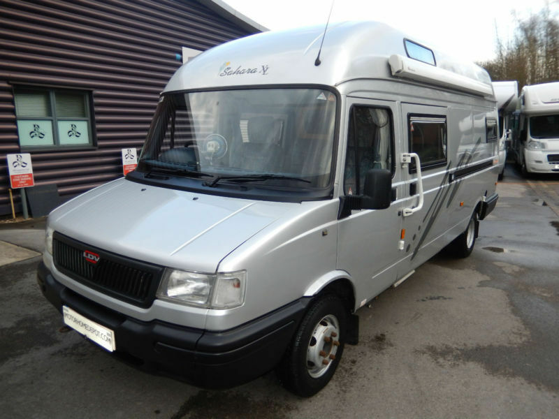 Devon Sahara XL 4 Berth Camper Van Conversion For Sale