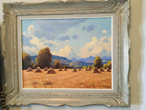 Original oil painting by Roland Gissing
