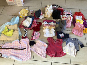 Baby girl clothes. Mostly 3-6 months