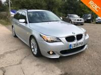 BMW 520 2.0TD auto 2009 d M Sport Touring, 100.000 MILES FULL SERVICE HISTORY