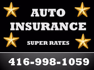Car Insurance - Super Rates & Super Savings 416-998-1059