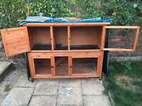 Rose Cottage Hutch for Rabbits and Guinea Pigs
