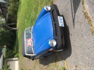 1977 MG Midget in good condition must sell!!
