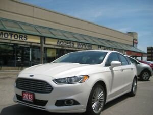 2013 Ford Fusion, SE, Leather, Bluetooth, Turbo, Extra Clean