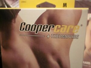 NEW IN BOX-COOPERCARE + THERMOVIBE--BACK PAIN RELIEF
