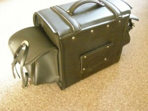 Honda CX500 Seat. Rear Leather Bag