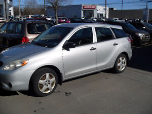 2006 Toyota Matrix HATCHBACK -5 SPEED GAS MISER-CREAM PUFF