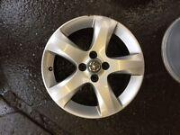 "2011 To 2014 Vauxhall Corsa D 16"" Genuine Own Facelift Alloy Wheel Good Breaking"