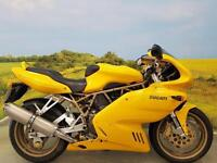 Ducati 900 SS 1998 ** 7887 Miles, One Owner, Service History, Brembo Brakes
