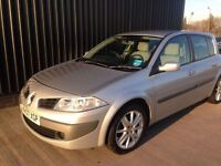 Renault Megane 1.6 vvt expression 2 keys service history long not may px