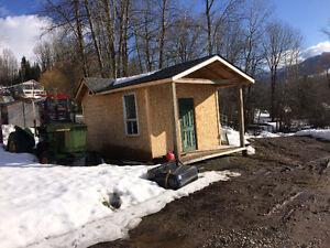 Utility shed with cabin potential