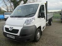 2013 Peugeot Boxer 2.2HDi 130 335 L3 drop side pickup diesel 1 owner euro 5