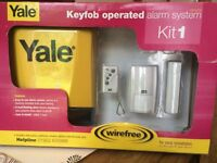 Yale wireless alarm system never used