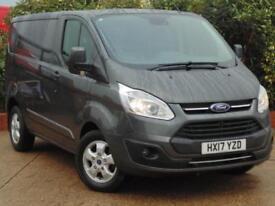 2017 Ford Transit Custom 2.0 TDCi 130ps L1 H1 Limited Van 2 door Panel Van