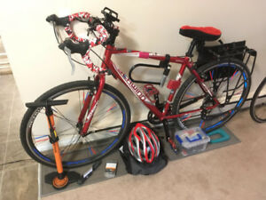 Hybrid bike with all accessories