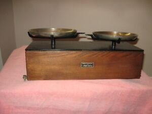 Antique Drugstore Scale  Henry Troemner  5Lbs #19500