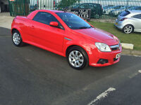 58 VAUXHALL TIGRA 1.4 TWINPORT 1 OWNER 33000 MILES IN RED FULL MOT FRESH SERVICE