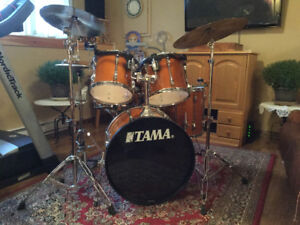 TAMA Drum set, complete, like new. $800 firm