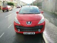 2007 Peugeot 207 1.6 16V GT 2dr CONVERTIBLE Petrol Manual