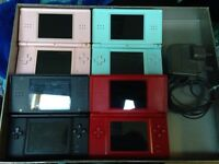 Nintendo DS Lite console + charger Good Working Order