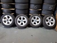 """16"""" BMW Style 306 Alloy Wheels and Tyres for an F30 BMW 3 Series"""