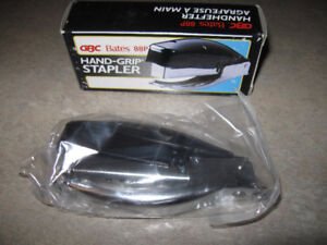Hand-Grip Stapler-New in box + much more-Entire lot $5