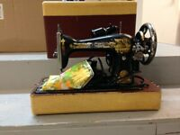 Foot pedal sewing machine