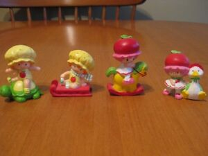 STRAWBERRY SHORTCAKE VINTAGE 80'S MINI PVC'S