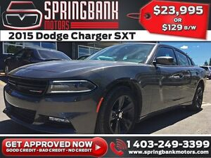 2015 Dodge Charger SXT $129B/W INSTANT APPROVAL, DRIVE HOME TODA
