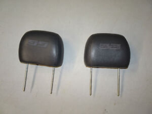 Chevy SS Leather Headrests