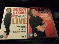 Micky Flanagan DVDs