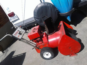 Toro snowblower 7-26""