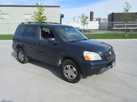 2004 Honda Pilot,  AWD, EX-L,  Leather, Up to 3 years warranty.