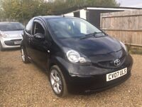 TOYOTA AYGO 1.0 3DR AUTO IDEAL FIRST CAR CHEAP ONSUANCE AND ONLY £20 ROAD TAX