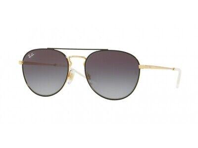 Sonnenbrille Ray Ban RB3589 Schwarz und Gold Lens Smoke - Grau - die Etwas