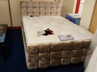 Complete Double bed and orthopaedic mattress