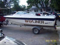 bayliner open deck