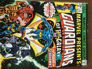Marvel Presents #3 (1976) comic with the Guardians of the Galaxy