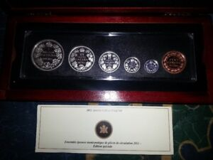 2011 - Centennial Special Edition Proof Silver Set