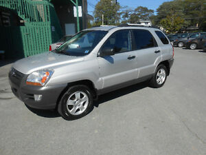 2008 KIA SPORTAGE 5 DOOR L X SUV, 0NE YEAR WARRANTY INCLUDED