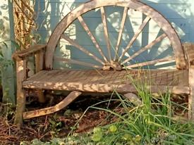 Beautiful Wooden Garden Bench