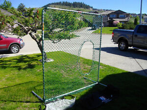 jugs quick snap softball pitching net